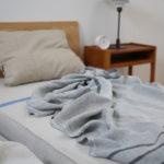 リネンの寝具に変えたら睡眠が良くなりそう~