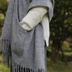 ふわっと薄くて軽いのに、羊毛の7倍暖かい!? CONNECT別注、アルパカショール