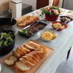 アットホームなホームパーティー お料理がおいしくみえるお皿たち。
