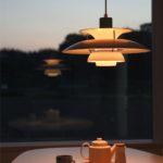 """""""たそがれ時の空の光""""を完全再現⁉北欧ペンダント照明PH5の美しい光"""