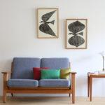 【最新作入荷】山口一郎さんの絵画を飾ってお部屋をイメージチェンジ