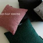 いつものソファに「KVADRAT/RAF SIMONS」のクッションでお部屋のイメージアップ