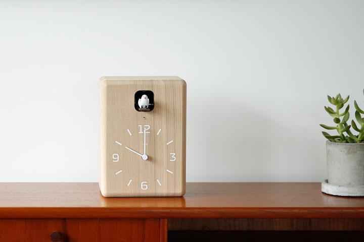 lemnos レムノス 鳩時計 カッコー時計
