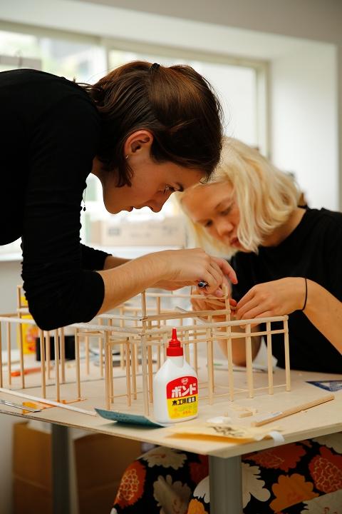 デンマーク 建築科の学生