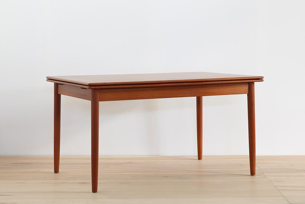 北欧ヴィンテージ家具 エクステンションテーブル ダイニングテーブル