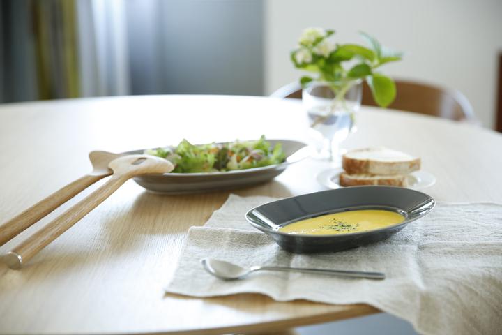 イイホシユミコ オーバルプレート スープ