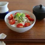 イイホシユミコ×CONNECTの器「dandan」で夏野菜ごはん