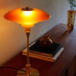 【限定生産】琥珀色のあたたかな光にうっとり「PH3/2 Amber (アンバー)琥珀テーブルランプ」