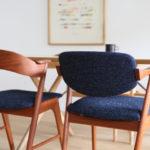 【片付けが減るインテリア選び】ファブリックにこだわれば、少ない家具でもおしゃれなダイニングに。