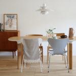 幅160cm以上のゆったりサイズの北欧ダイニングテーブルおすすめ3選