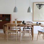 北欧ダイニングテーブルCH006でつくれる、大きなテーブルのある暮らし