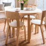新婚生活や二人暮らしにぴったりの、北欧家具アルテックでつくれるコンパクトダイニング