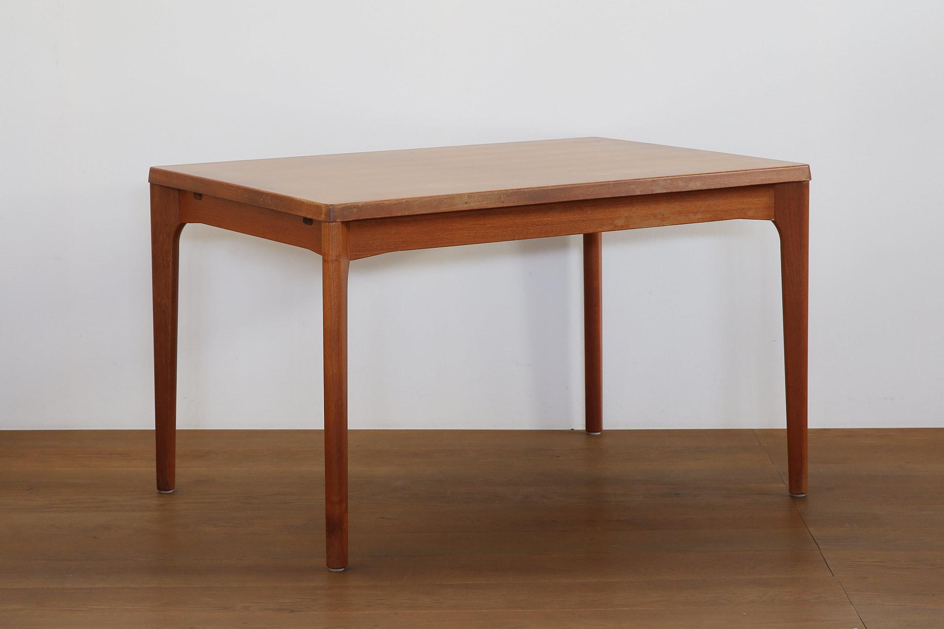 北欧ヴィンテージ家具 ヘニング・ケアヌルフ エクステンションテーブル