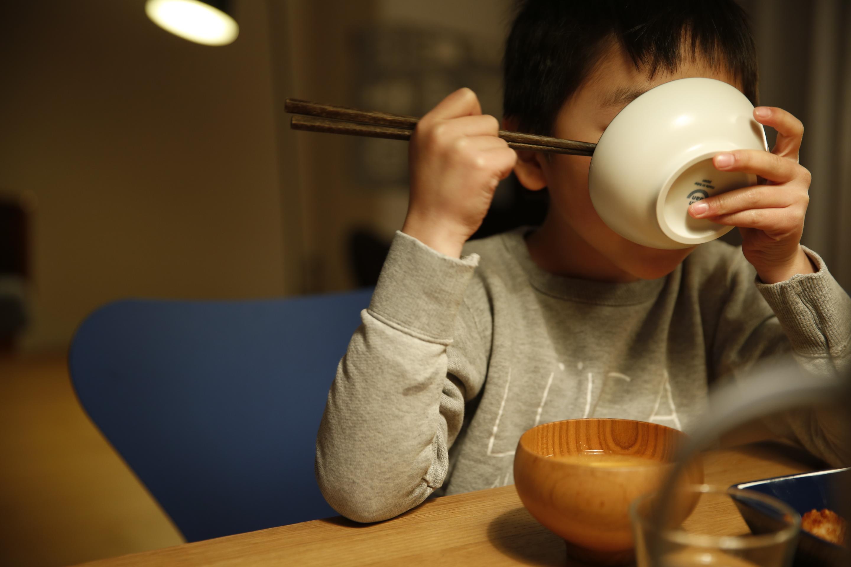 イイホシユミコ dandan 子供茶碗