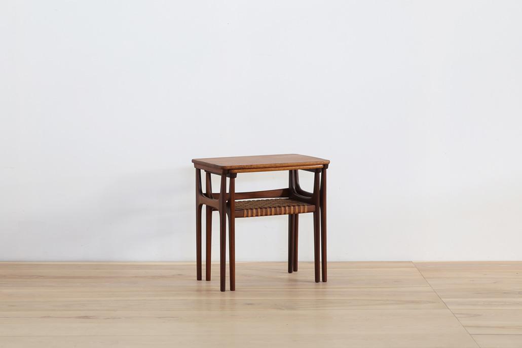 北欧ヴィンテージ家具 エーリング・トロヴィッツ Model 15 ネストテーブル