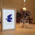 100枚限定!!山口一郎さんの貴重な作品Blue bird(青い鳥)