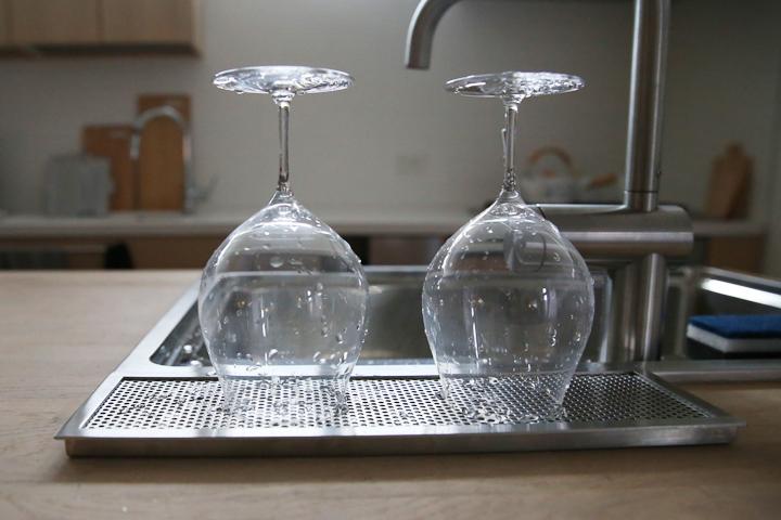 mizukiri 水切りトレー キッチン ワイングラス