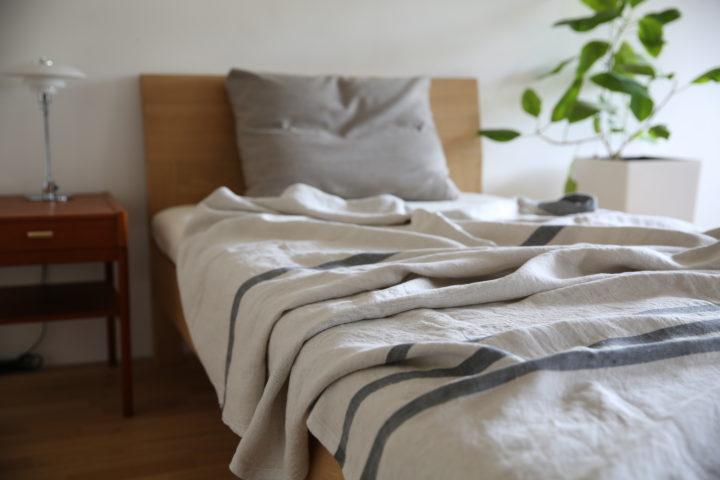 ラプアン リネン ブランケット 寝具