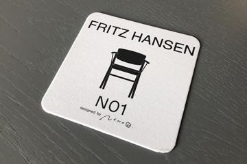 N01 カフェ コースター フリッツハンセン