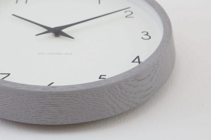 カンパーニュ 掛け時計 グレー