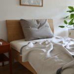 ラプアンカンクリのリネン寝具は肌にやさしくひんやり快適。夏の寝苦しさもこれで解消!